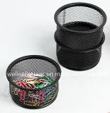 Form-Schreibtisch-Organisator-stapelbarer Metalldraht-Ineinander greifen-Papierklammer-Halter