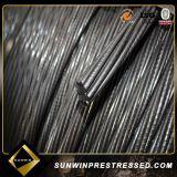 Pfosten-kabelt Spannstrang-Draht-Strang 12.7mm