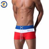 Swimwear degli uomini modellato poliestere pieno della vita di Oeko-Tex