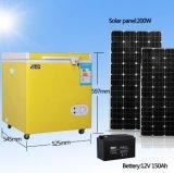 congelatore profondo autoalimentato solare di CC del frigorifero del frigorifero 108L
