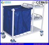 Krankenhaus-Edelstahl-medizinische Krankenpflege-Multifunktionskarre/Laufkatze