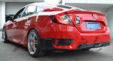 para Honda Civic X 2016 delanteros y los parachoques traseros arrincona las tapas