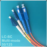 LC-Sc PC Om2 Mehrmodenfaser-Optiksteckschnür