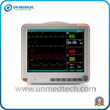Monitor paciente del multiparámetro de 15 pulgadas con el sistema de vigilancia central