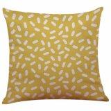 Alta calidad y el patrón de elegante almohada cojín