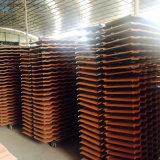 Matériau de construction en aluminium tuile en métal galvanisé couleur sable tuile de toit