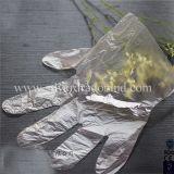 Прозрачные пластичные устранимые перчатки для трактира еды