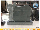 Angel Design Memorial em Green Granite 2016 Novo
