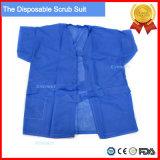 Нетканого материала PP или SMS больнице медицинского скрабс брюки единообразных костюмы
