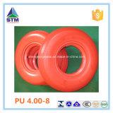 Rotelle 4.80/4.00-8 del poliuretano del rullo della gomma piuma piccole