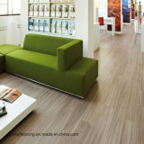 Plancher de PVC réutilisé par configuration desserrée en bois d'intérieur de configuration de Lvt