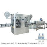 De automatische Machine van de Etikettering Shrinkagle (Dubbele Hoofden)