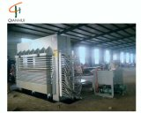 合板の生産のための多層熱い出版物機械