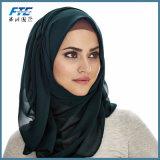 180*80cm de haut de la qualité de belles foulard Hijab Fashion coiffure pure