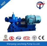 Grande pompe à eau axialement dédoublée centrifuge de caisse de turbine de jumeau de flux