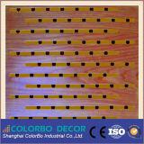 Panneau en bois acoustique adapté aux besoins du client de trou