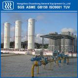 Os equipamentos das estações de enchimento de gás natural