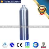 Cilindro de aluminio inconsútil de alta presión del CO2 con la aprobación ISO7866
