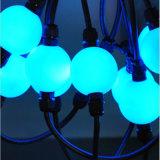 Farbe, die DMX RGB LED magisches Weihnachtslicht der Kugel-3D ändert