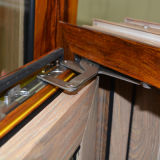 고품질 다채로운 열 틈 다중 자물쇠 K03044를 가진 알루미늄 목제 여닫이 창 Windows