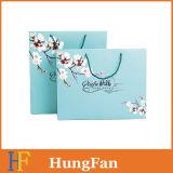 Изготовленный на заказ цветастый упаковывая мешок подарка покупкы бумажный