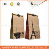 カスタム環境に優しいコーヒークラフト紙の買物袋