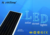 80W 지능적인 전화 통제되는 MPPT 관제사 한세트 태양 Streer 램프