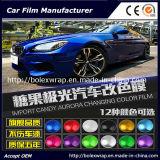 Nuovo involucro colorato 1.52*18m del vinile colorato alta caramella del corpo di automobile del cambiamento lucida
