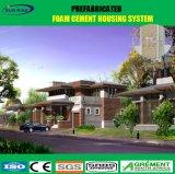 Camera prefabbricata della villa di basso costo con il comitato solare