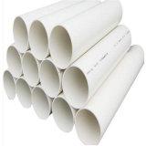 Instalación de tuberías del PVC, tubo del PVC