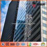 20 ans de garantie du mur rideau 0.5mm d'épaisseur d'ACP d'aluminium