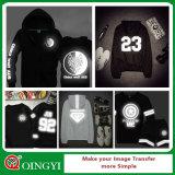 Qingyi 니스 질 t-셔츠를 위한 사려깊은 열전달 필름
