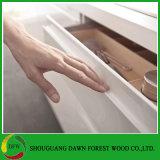 現代デザイン高い光沢のあるラッカー合板の物質的な食器棚