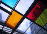 Покрашенное стекло шелковой ширмы стекла/картины стеклянное/Patnted стеклянное для полки мебели или панели Splashback