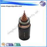 Bainha em PVC Isolados em XLPE Mv retardador de chama de cabo de alimentação eléctrica