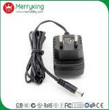 A UE do adaptador do Ce En61558 RoHS AC/DC do TUV obstrui o adaptador da potência do diodo emissor de luz de 12V 1A 12W