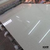 Sparkle Quartz blanc carreaux en pierre de quartz artificielle des revêtements de sol
