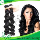 ボディWave 7A Human Virgin HairブラジルのRemy Hair