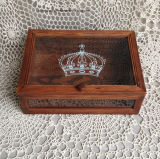 جذّابة [بين ووود] [جفت بوإكس], خشبيّة يعبّئ صندوق