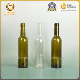 Fles de van uitstekende kwaliteit van de Wijn van het Glas 375ml-750ml met Verschillende Vorm (1139)