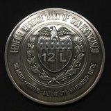 Messingherausforderungs-Münzen des Metall3d