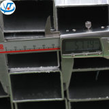 Grand dos/prix entier galvanisé de pipe en acier et de tube forme rectangulaire/ronde