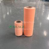 주황색 색깔에 있는 500mm*1800m*25um에 의하여 불어지는 사일로에 저항한 꼴 포장 필름
