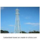 Torre de comunicación Telecom autosuficiente de microonda