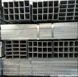 50X50mm heißes BAD galvanisiertes Stahlrohr/Quadrat-Stahlrohr/Gefäß