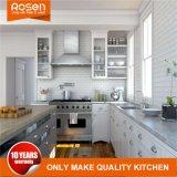 Het moderne Aangepaste Witte Meubilair van Keukenkasten