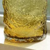 Vaso di vetro saltato bocca pigmentato