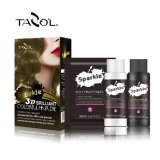 30ml Tazol Brown natural semi-permanente loco del pelo del color + 60ml + 60ml