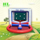 ホールゲームの膨脹可能なティーの球の射撃