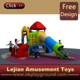 Ce petit colorés merveilleux terrain de jeux extérieur pour les bambins (X1511-9)